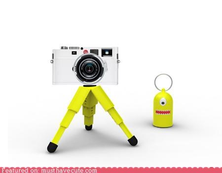 camera,colorful,face,gadget,Teeny,travel size,tripod