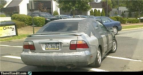 car,duct tape,honda,Kludge