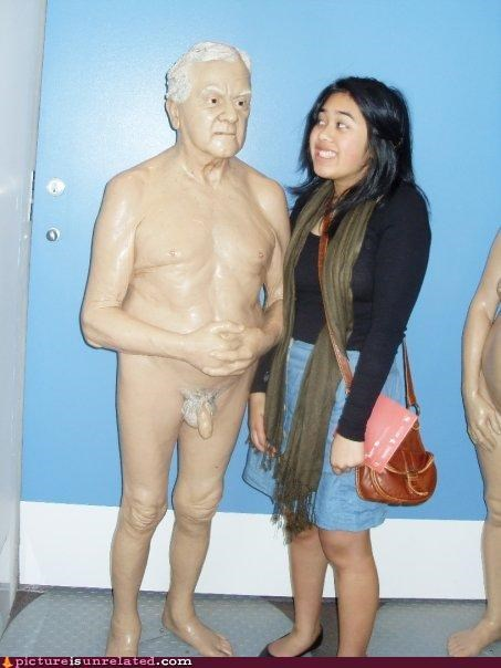 The Angry Naked Guy Wax Museum!