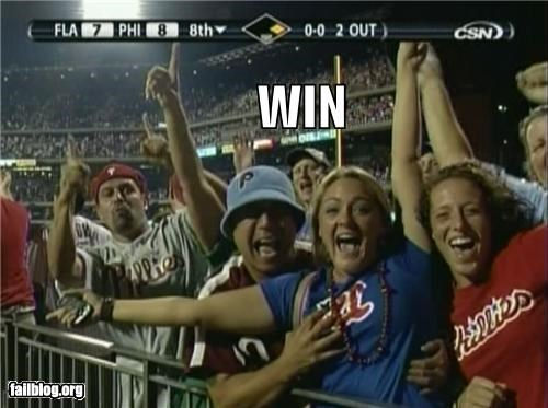 Phillies Fan WIN