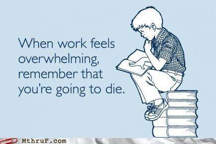 Death,motivation,work
