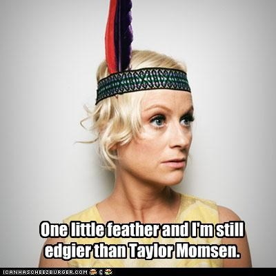 Amy Poehler,celebrity-pictures-amy-poehler-feather,funny,katy perry,ROFlash,SNL