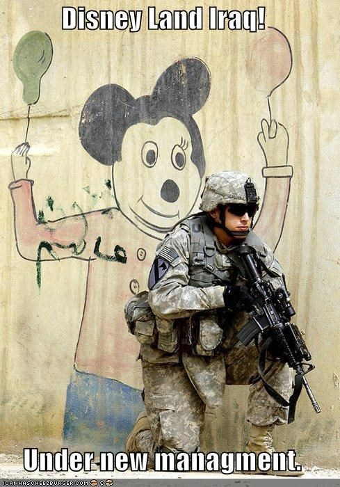 Disney Land Iraq!  Under new managment.