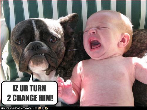 IZ UR TURN  2 CHANGE HIM!