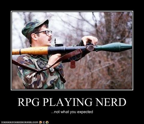 RPG PLAYING NERD