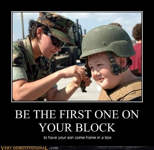 BE THE FIRST ONE ON YOUR BLOCK