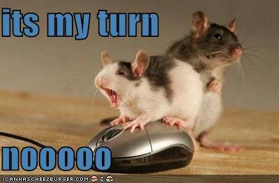 its my turn  nooooo