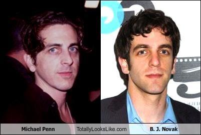 Michael Penn Totally Looks Like B. J. Novak