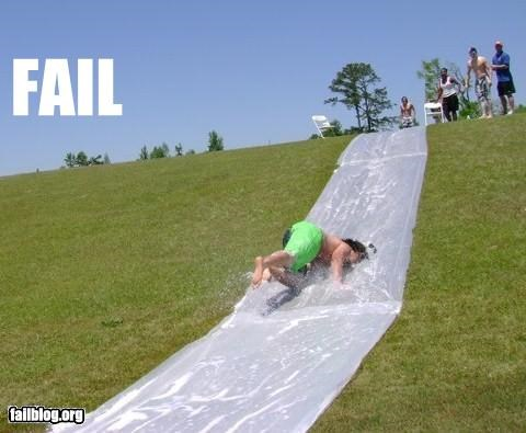 Slip-n-Slide fail