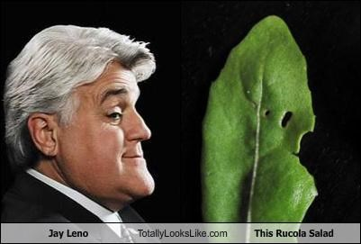 Jay Leno Totally Looks Like This Rucola Salad