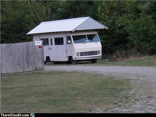 Kludge,poll,roof,rv