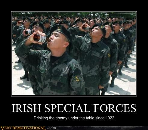beer,discipline,drinking,drunks,hilarious,Ireland,military