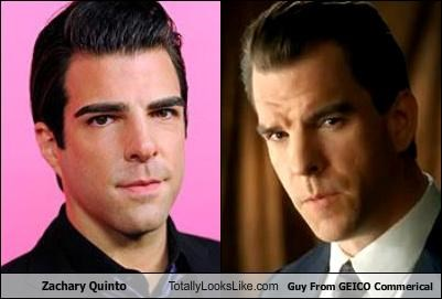 guy from geico commercial,Zachary Quinto