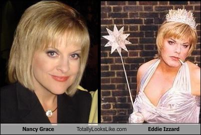 eddie izzard,Nancy Grace