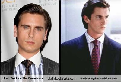 Scott Disick - of the Kardashians Totally Looks Like American Psycho - Patrick Bateman