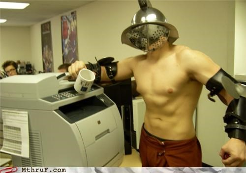 Gladiator,printer,sparta,this is sparta,win