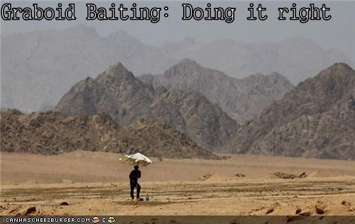 Graboid Baiting: Doing it right