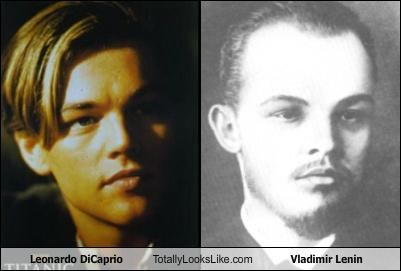 Leonardo DiCaprio Totally Looks Like Vladimir Lenin