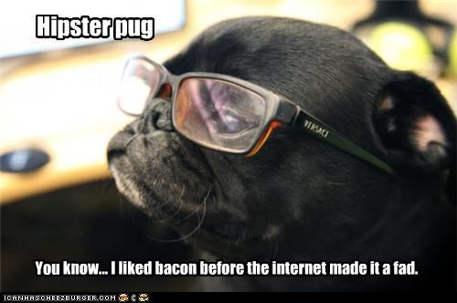 You know... I liked bacon before the internet made it a fad.
