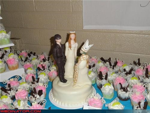 Wuv, Twue Wuv: Princess Bride Cake Topper
