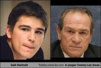 Josh Hartnett Totally Looks Like A youger Tommy Lee Jones