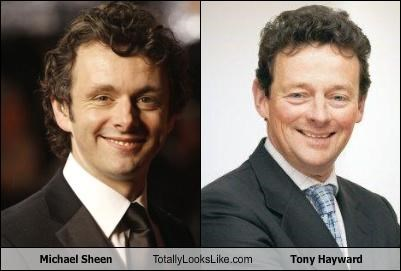 Michael Sheen Totally Looks Like Tony Hayward
