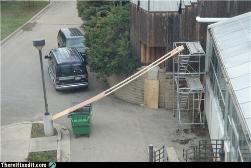 Kludge,ladder,not a ladder,safety