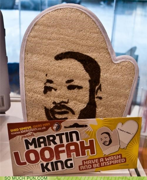advertisement,bath time,cleanliness,hygiene,I have a dream,infomercial,loofah,martin luther king jr,product,washing