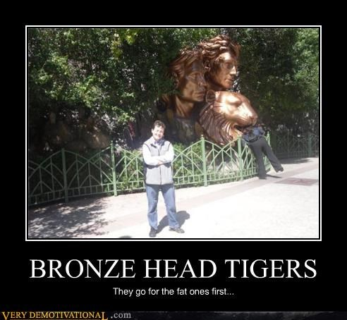 BRONZE HEAD TIGERS
