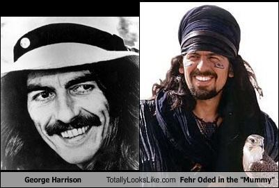 "George Harrison Totally Looks Like Fehr Oded in the ""Mummy"""