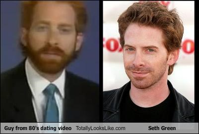 Guy from 80's dating video Totally Looks Like Seth Green