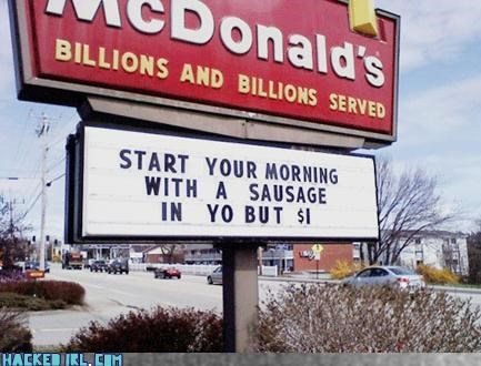 McDonald's Goes Both Ways