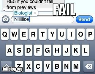 Autocorrection FAIL