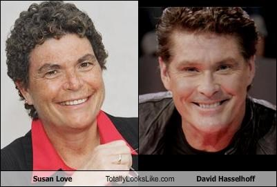 Susan Love Totally Looks Like David Hasselhoff