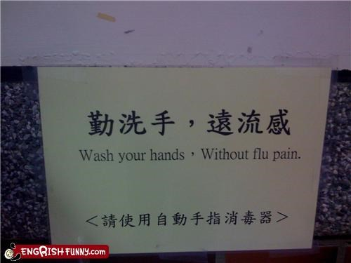 sick,sign,warning,washing