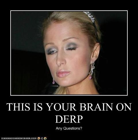 THIS IS YOUR BRAIN ON DERP