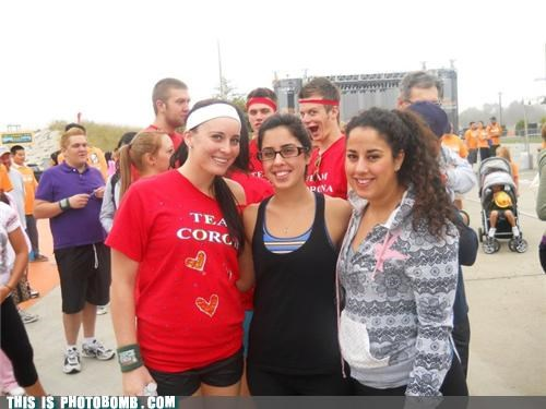 awesome face,creepy sneakers,groups,photobomb,sports,youth gone wild