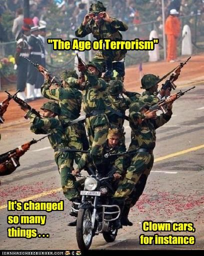 The Age of Terrorism