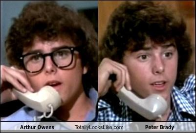 Arthur Owens Totally Looks Like Peter Brady