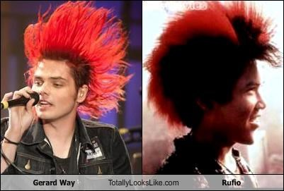 Gerard Way Totally Looks Like Rufio