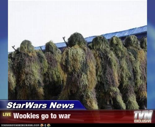 StarWars News - Wookies go to war