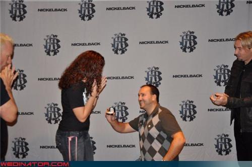 Backstage Nickelback Proposal