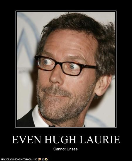 EVEN HUGH LAURIE