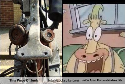 This Piece Of Junk Totally Looks Like Heifer From Rocco's Modern Life