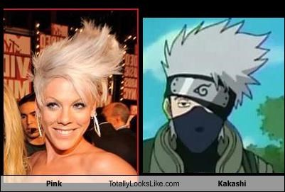 Pink Totally Looks Like Kakashi