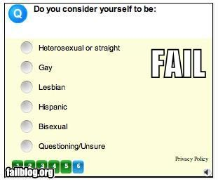 choices,failboat,labels,online,options,redundant,survey