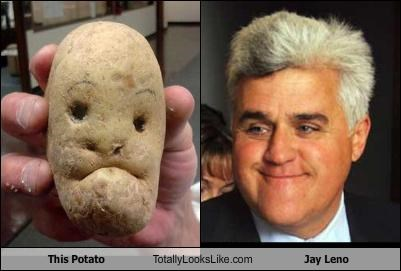 This Potato Totally Looks Like Jay Leno