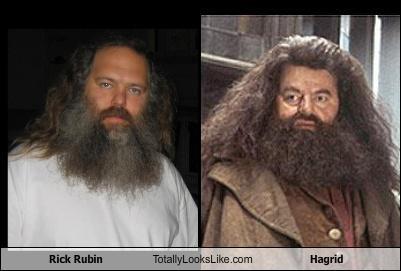 beards,Hagrid,Harry Potter,rick rubin