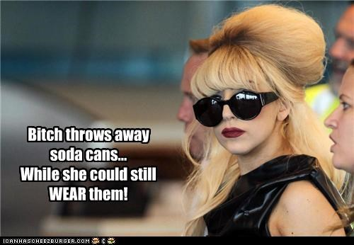 Gaga does not aprove
