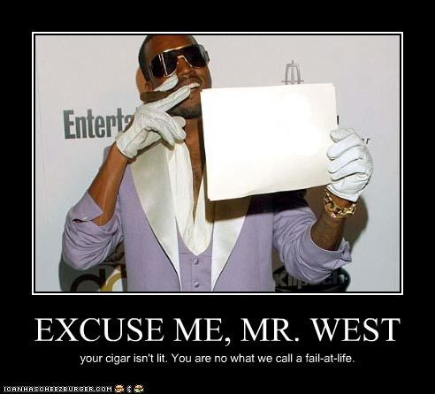 EXCUSE ME, MR. WEST